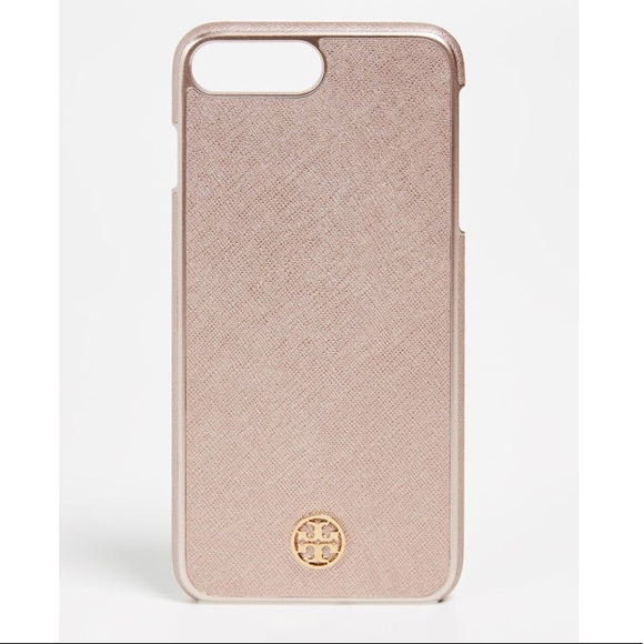 new arrival 72b7e 0f245 Tory Burch Robinson Hardshell Iphone 8 Plus Case